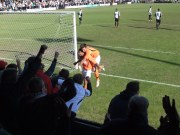 Hednesford 2 Salisbury 2 - celebration