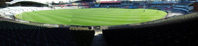 Panorama Carlton Oval