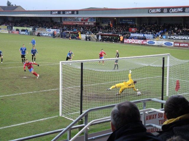 Dagenham 01 Penalty Save