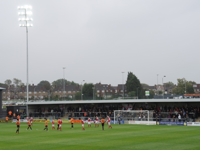 Barnet v Wrexham. The Hive 19