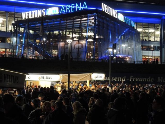 Schalke 04 v Stuttgart. Veltins Arena 03