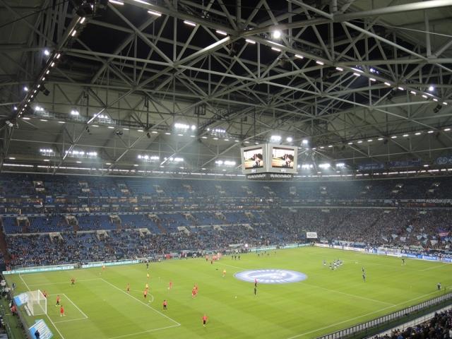 Schalke 04 v Stuttgart. Veltins Arena 13