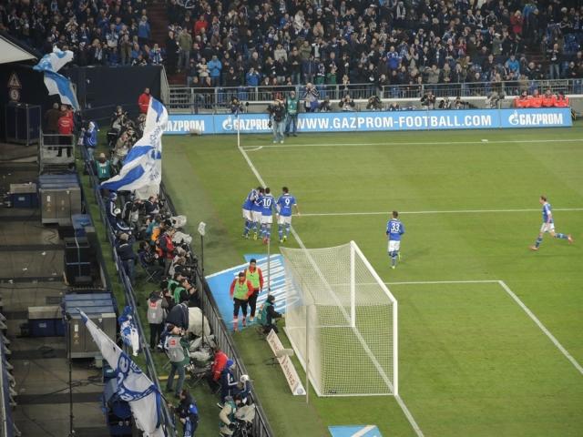 Schalke 04 v Stuttgart. Veltins Arena 23