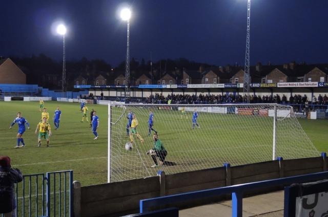 Gainsborough Trinity Northolme 26 1-0 to VMFC