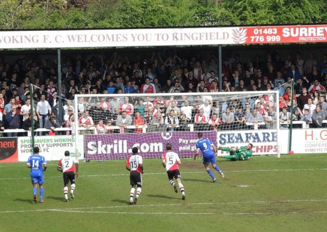 Woking v Aldershot 19. 1-0 to Aldershot