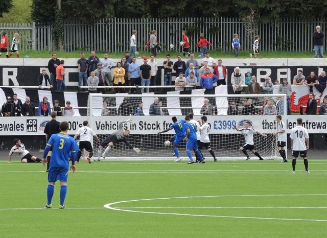 Merthyr v Paulton 48. 1-0 to Paulton