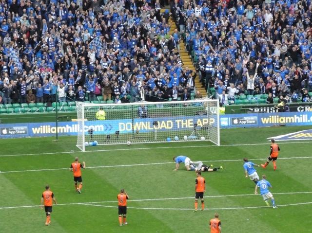 St Johnstone 2 Dundee United 0 - 70 MacLeans winner
