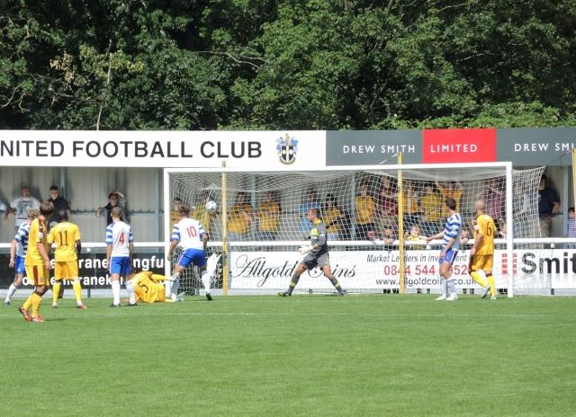 Sutton 4 Reading XI 0. 23 - 2-0 to Sutton