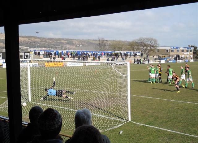 Folkestone Invicta v Guernsey 43. 3-1 to Folkestone
