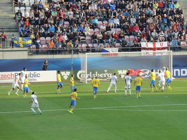 Olomouc 35 - 1-0 to England