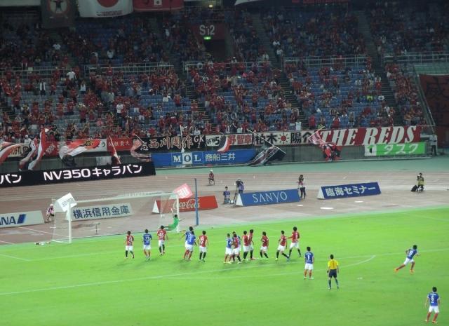 Yokohama F Marinos 27 - 1-0 to Yokohama