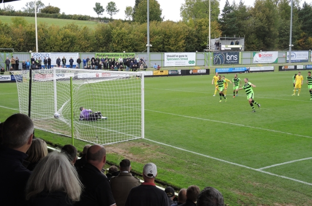 Forest Green 39 - 2-0 to FGR