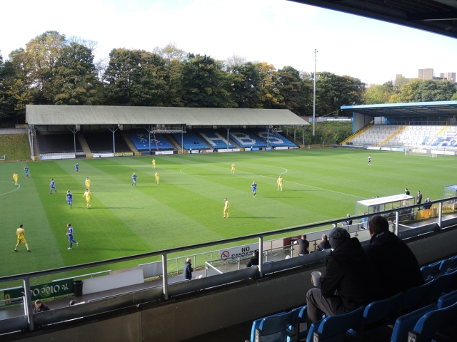 The Shay. Halifax Town 25