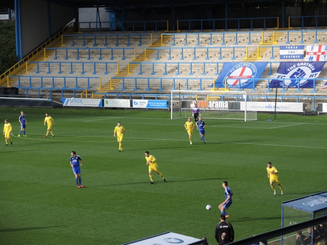 The Shay. Halifax Town 27