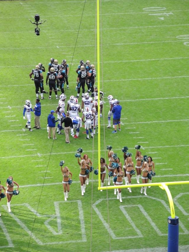 Jaguars 34 Bills 31 - 10